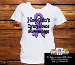 Hodgkins Lymphoma Awareness Ribbon Shirts