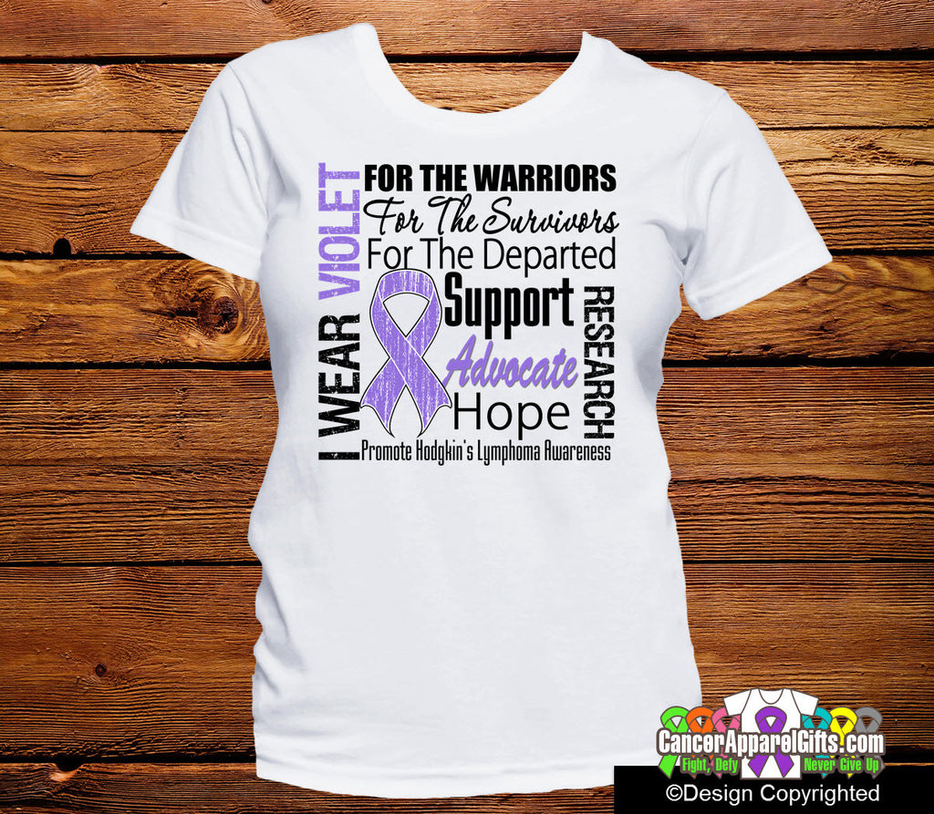 Hodgkins Lymphoma Tribute Shirts