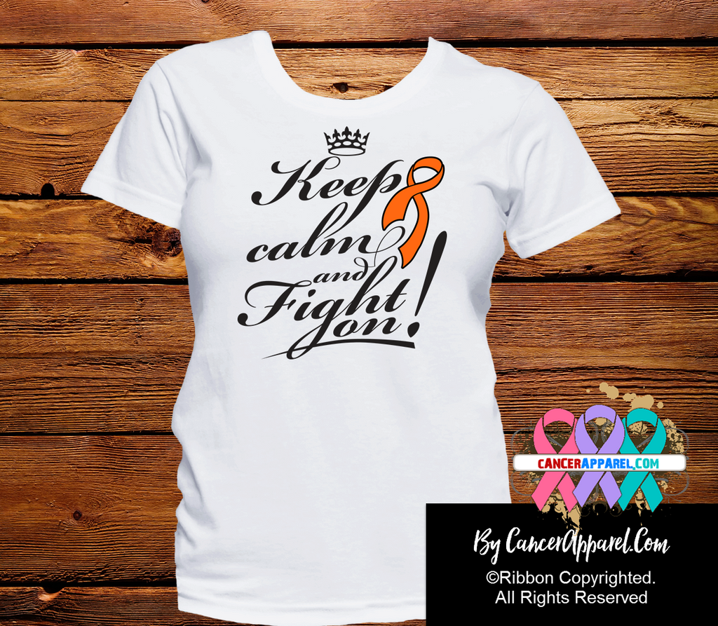 Kidney Cancer Keep Calm and Fight On Shirts