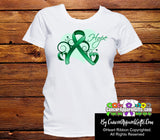 Liver Cancer Heart of Hope Ribbon Shirts