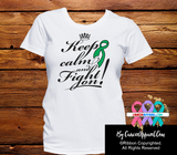 Liver Cancer Keep Calm and Fight On Shirts