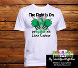 Liver Cancer The Fight is On Men Shirts