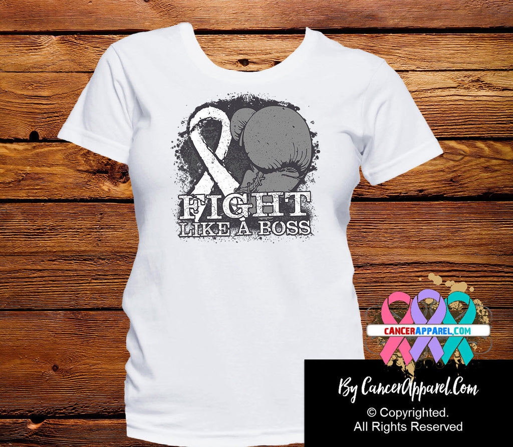 Lung Cancer Fight Like a Boss Shirts