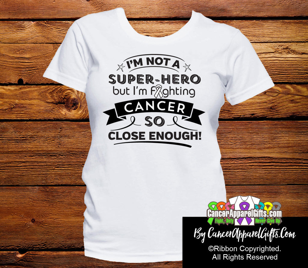 Lung Cancer Not a Super-Hero Shirts