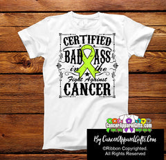 Lymphoma Certified Bad Ass In The Fight Shirts