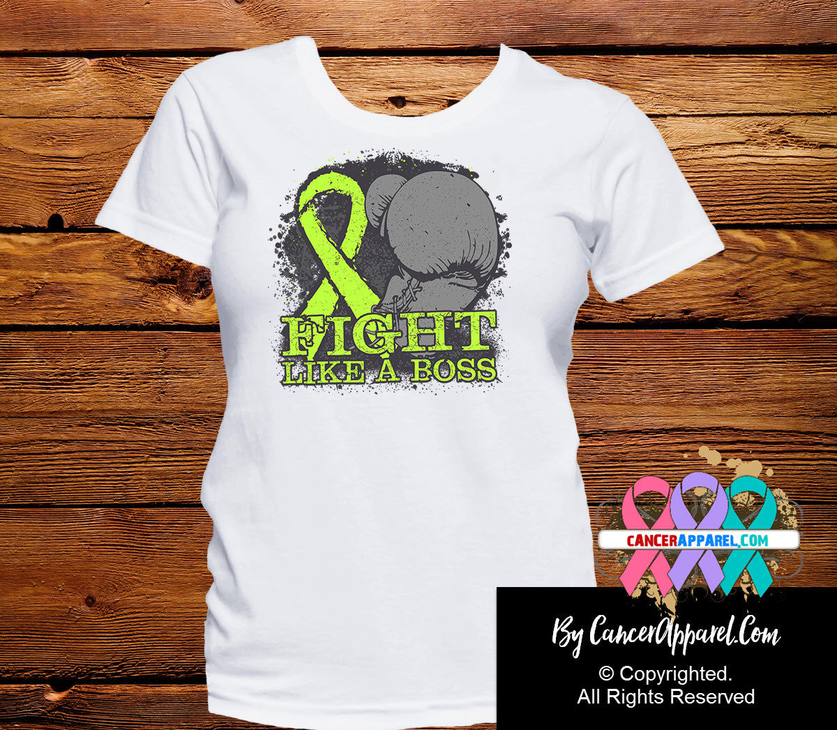 Lymphoma Fight Like a Boss Shirts