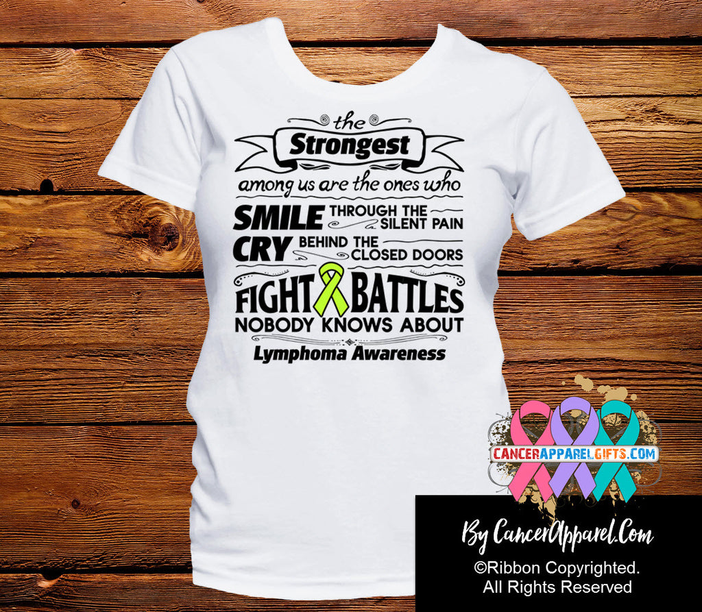 Lymphoma The Strongest Among Us Shirts