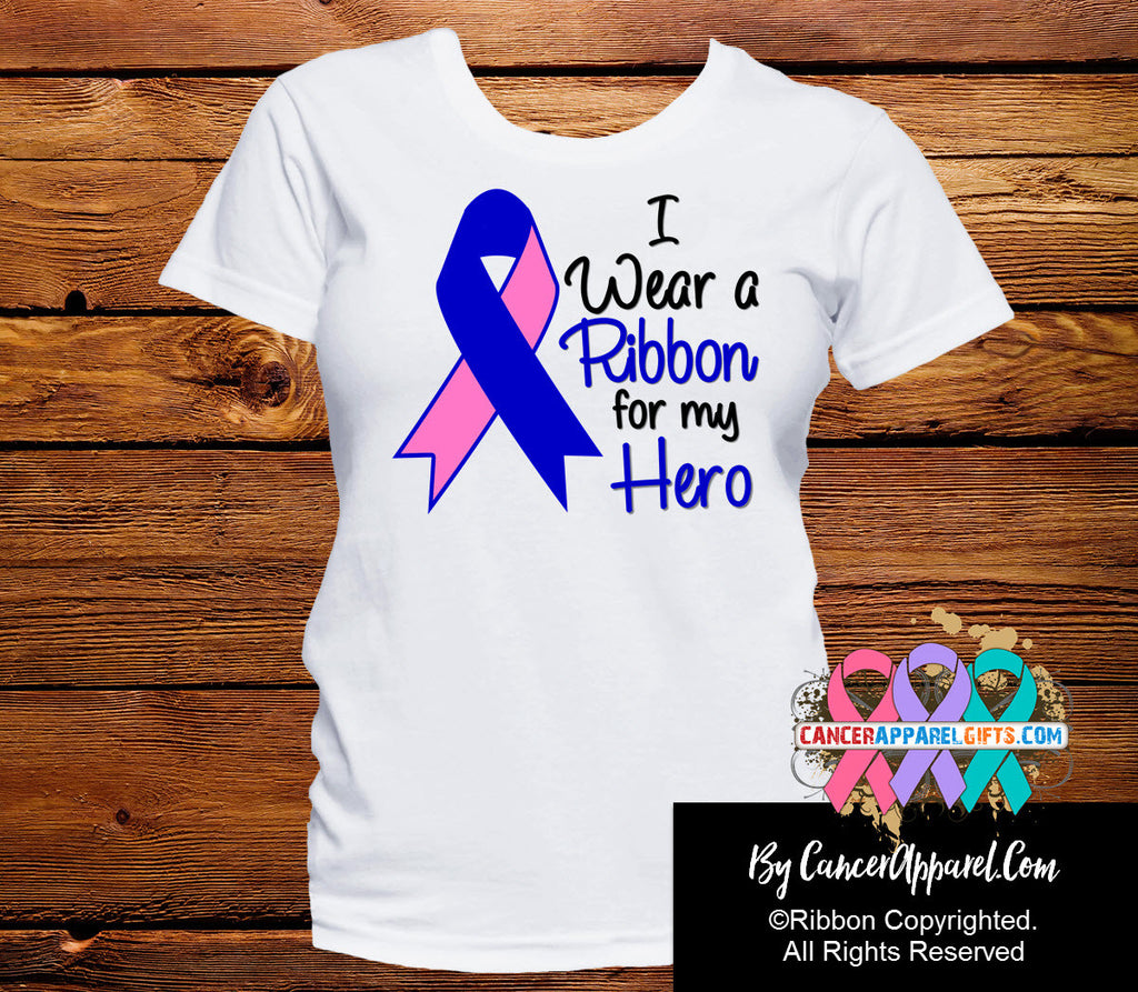 Male Breast Cancer For My Hero Shirts