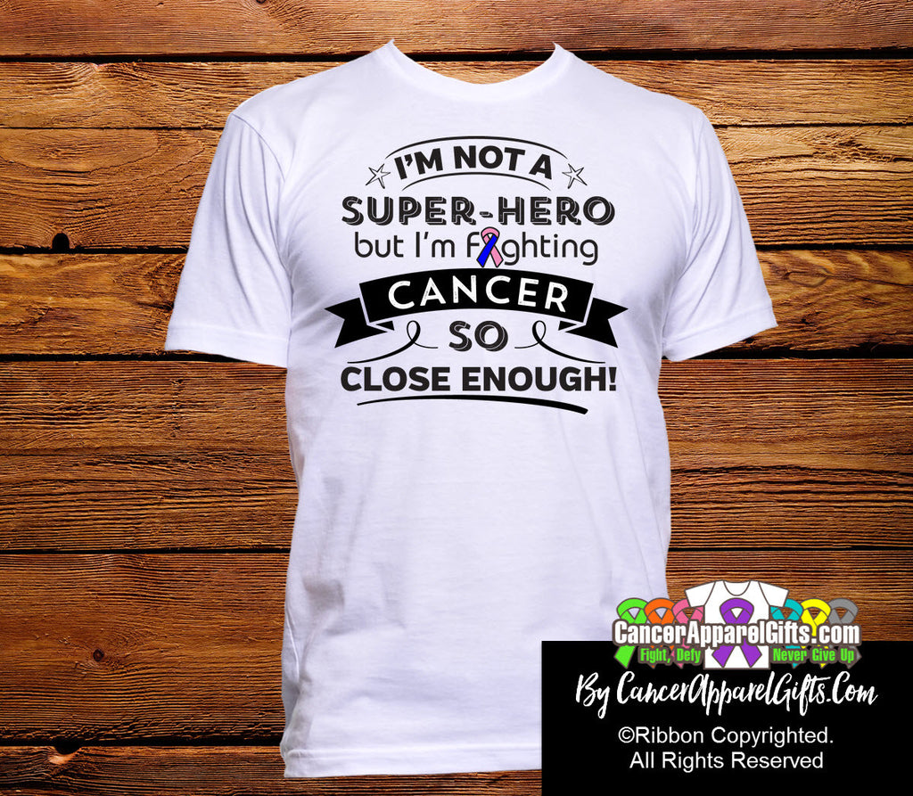Male Breast Cancer Not a Super-Hero Shirts