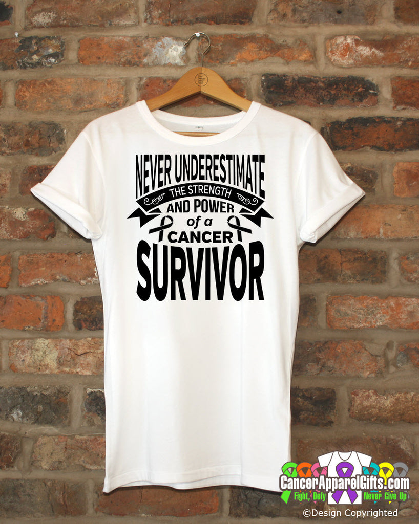 Melanoma Never Underestimate Strength Shirts
