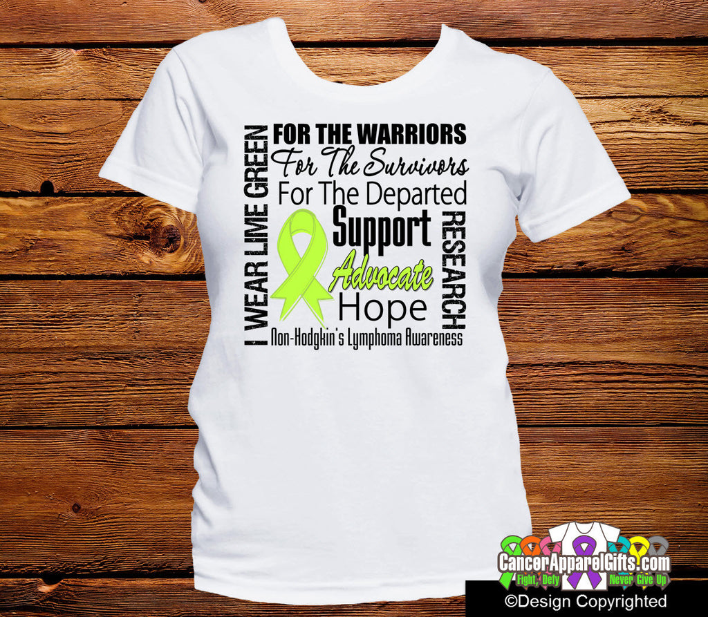 Non-Hodgkins Lymphoma Tribute Shirts