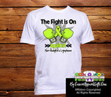 Non-Hodgkins Lymphoma The Fight is On Men Shirts