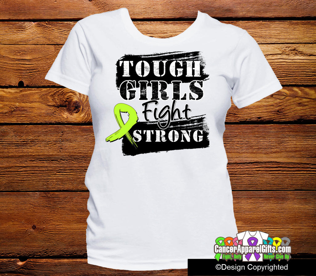 Non-Hodgkins Lymphoma Tough Girls Fight Strong Shirts