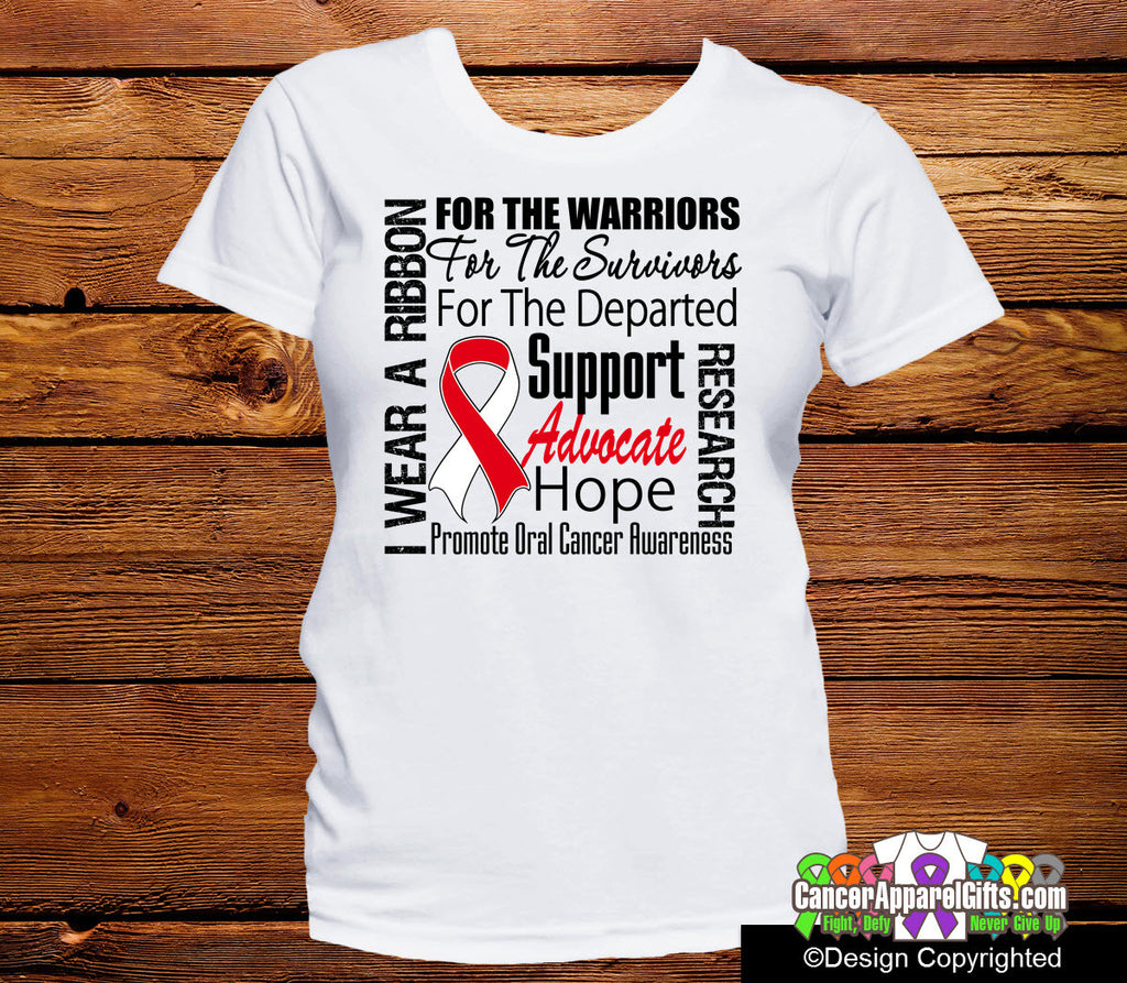 Oral Cancer Tribute Shirts