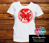 Oral Cancer Stunning Butterfly Shirts - Cancer Apparel and Gifts