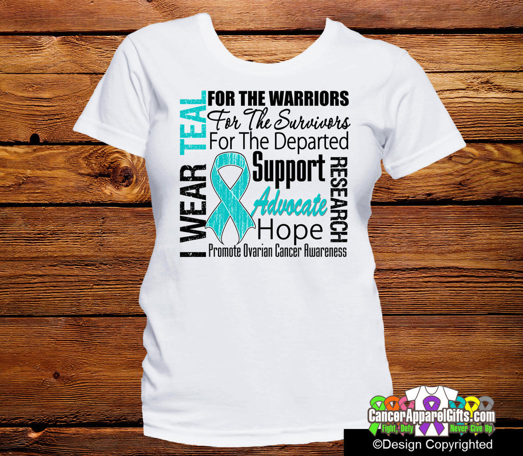 Ovarian Cancer Tribute Shirts