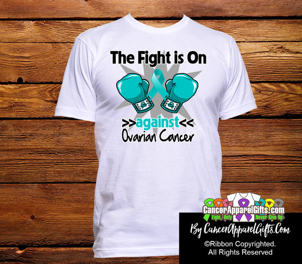 Ovarian Cancer The Fight Is On Shirts Cancer Apparel Gifts At Shopify