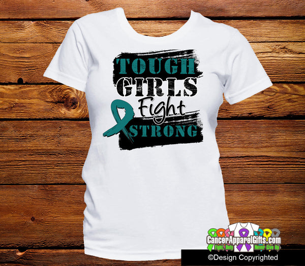 Ovarian Cancer Tough Girls Fight Strong Shirts Cancer Apparel Gifts At Shopify