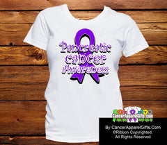 Pancreatic Cancer Awareness Ribbon Shirts