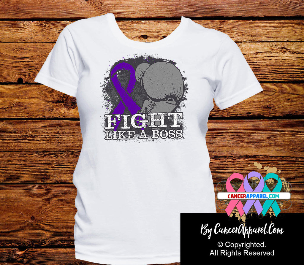 Pancreatic Cancer Fight Like a Boss Shirts