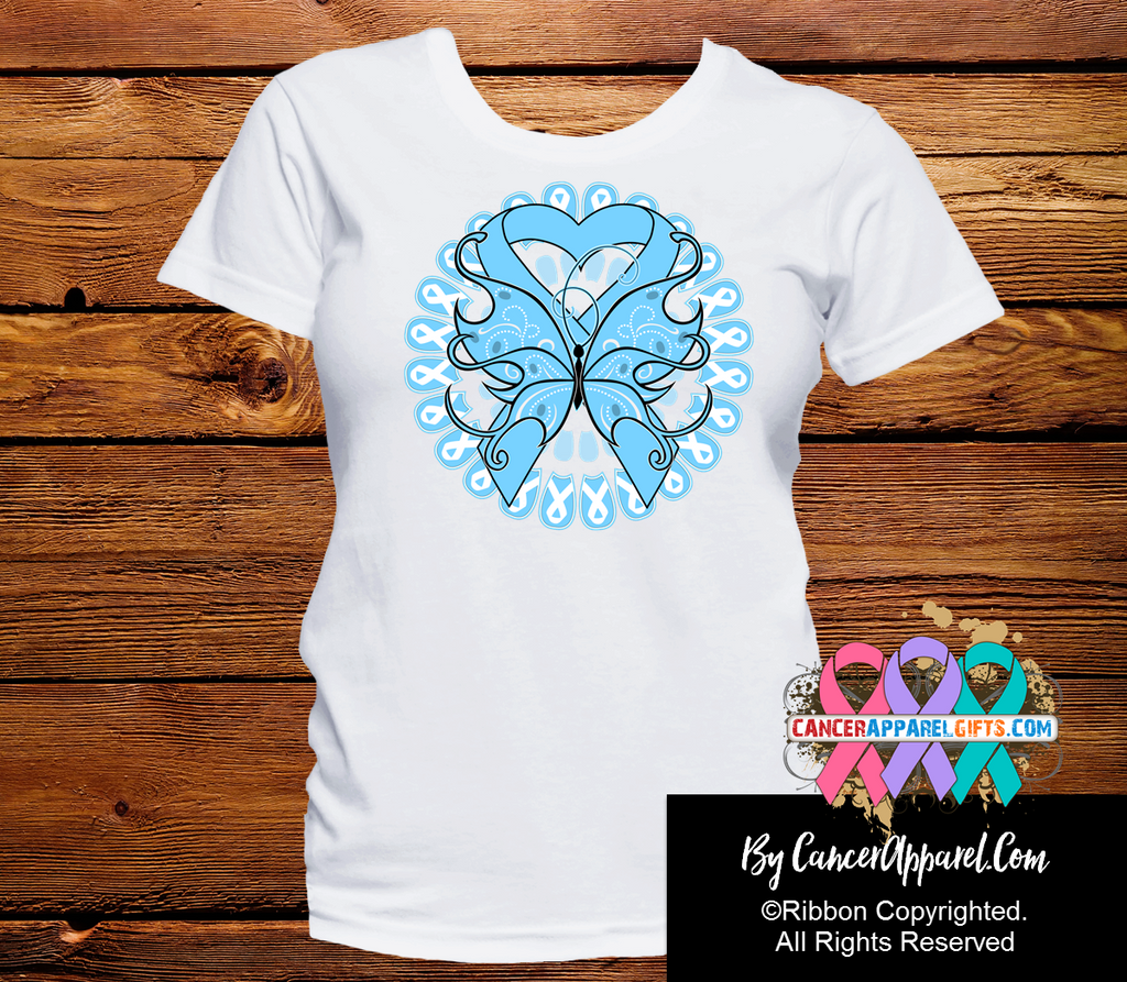 Prostate Cancer Awareness Shirts Butterfly Tattoo Cancer