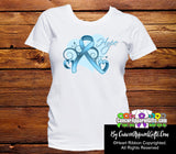 Prostate Cancer Heart of Hope Ribbon Shirts - Cancer Apparel and Gifts