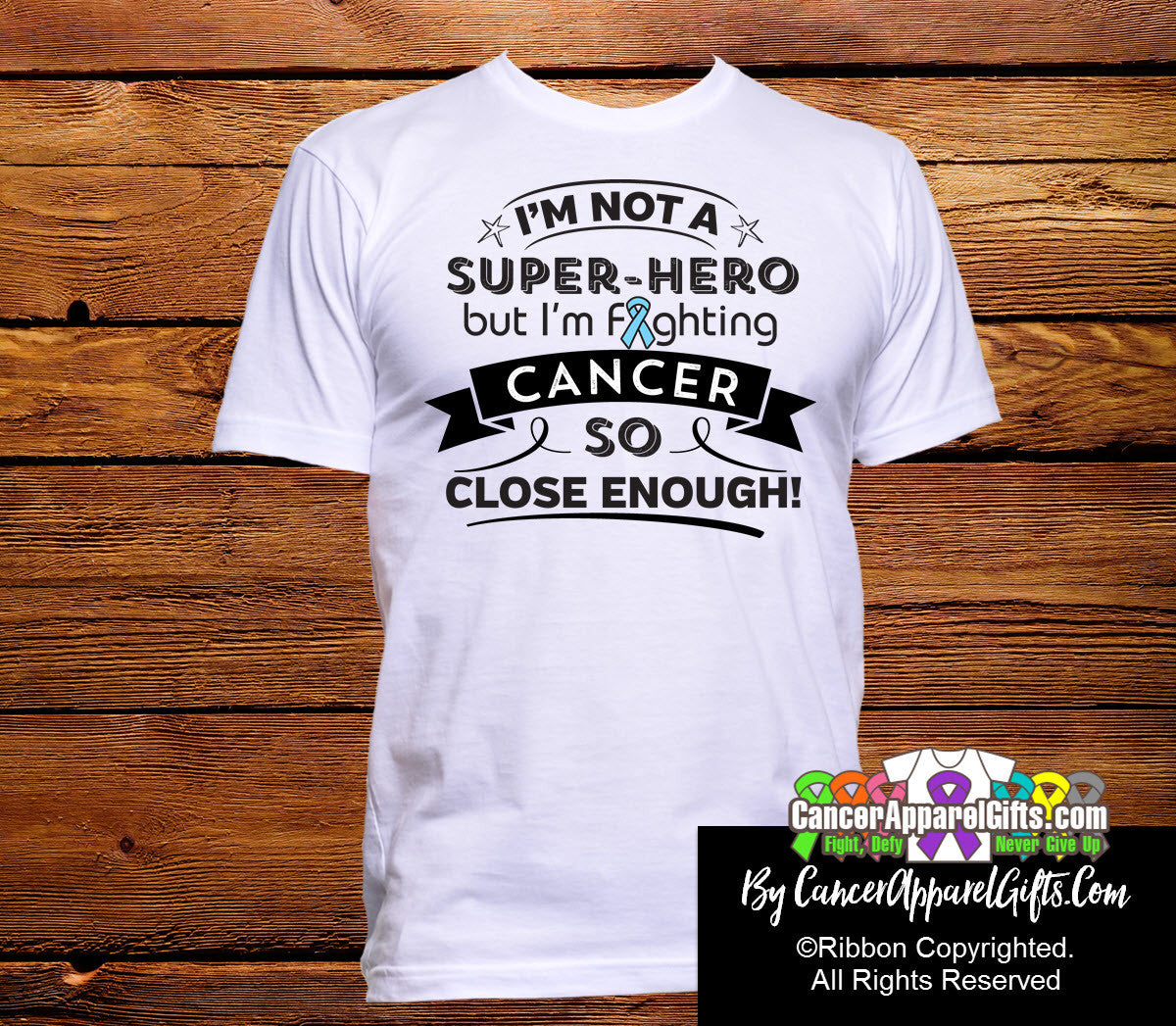 Prostate Cancer Not a Super-Hero Shirts