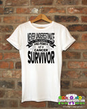 Retinoblastoma Never Underestimate Strength Shirts