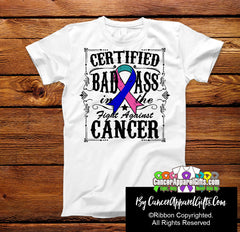 Thyroid Cancer Certified Bad Ass In The Fight Shirts