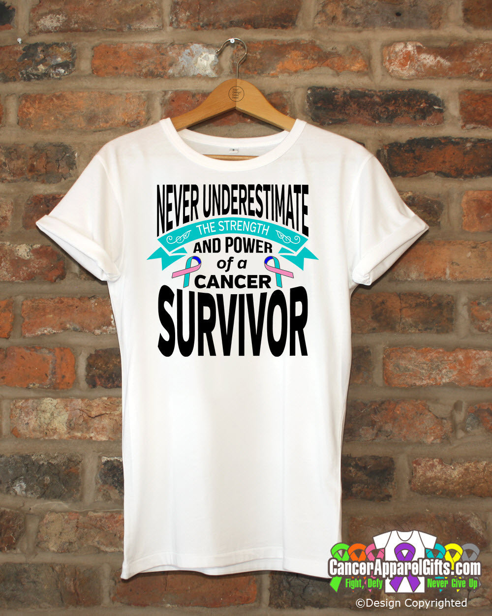 Thyroid Cancer Never Underestimate Strength Shirts