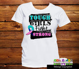 Thyroid Cancer Tough Girls Fight Strong Shirts