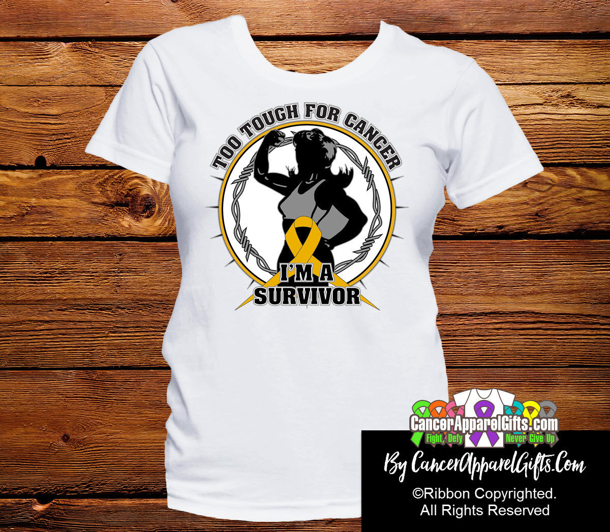 Too Tough For Appendix Cancer Shirts