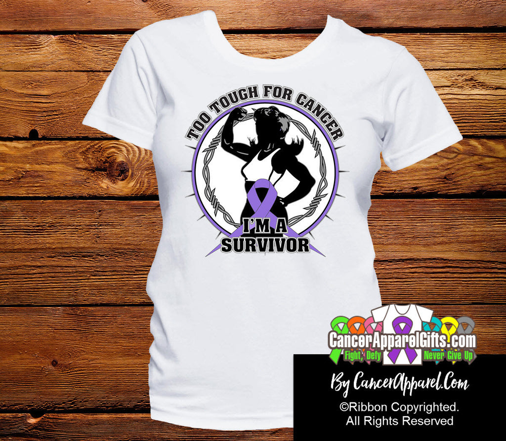 Too Tough For Hodgkins Lymphoma Shirts