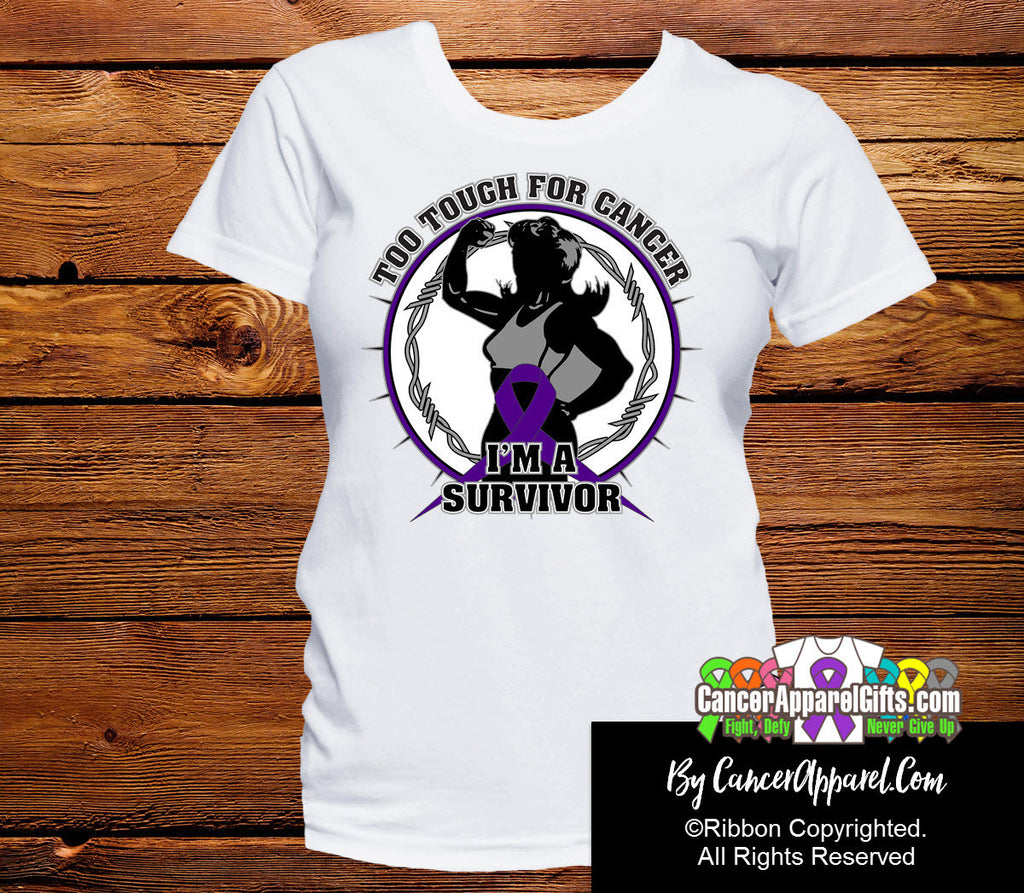 Too Tough For Pancreatic Cancer Shirts