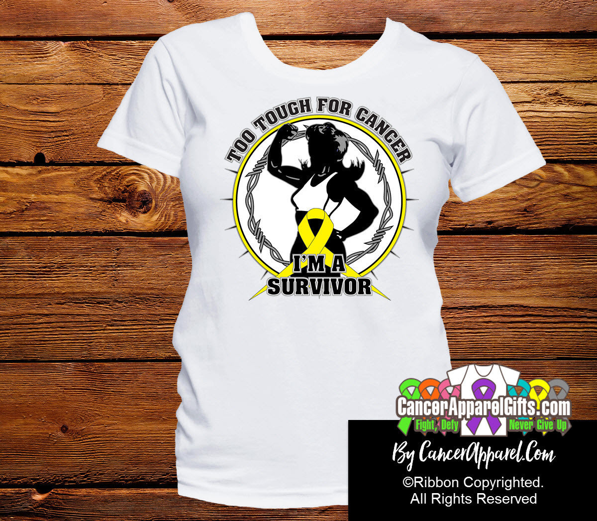 Too Tough For Sarcoma Shirts