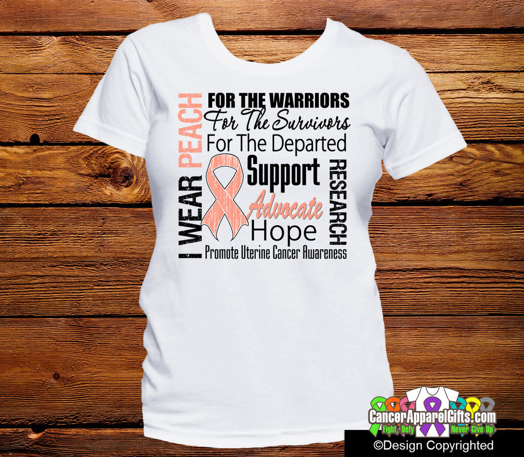 Uterine Cancer Tribute Shirts