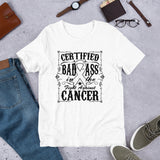 Lung Cancer Certified Bad Ass Short-Sleeve T-Shirt