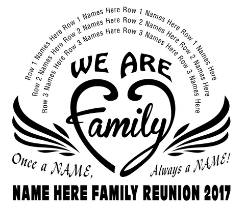 Free Family Reunion T Shirt Design Catalog In His Image By Dani
