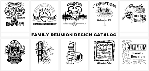 d3aeec73 Free Family Reunion T-Shirt Design Catalog – In His Image by Dani