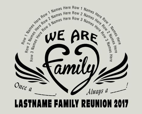 014b1e432 Family Reunion T-Shirts Design 2 – In His Image by Dani