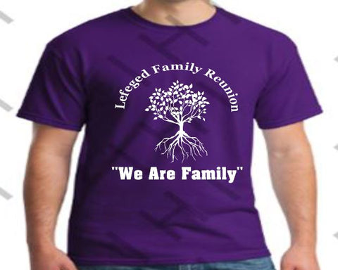 e8edb8fb Family Reunion T-Shirts – In His Image by Dani