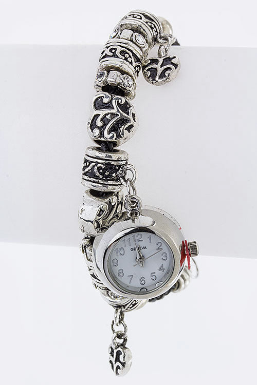 Mix Charm Fashion Bracelet Watch