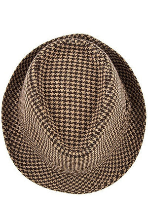 Pattern Fedora Hat