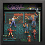 Pixel Frames Sega Streets of Rage 9x9 inches Shadow Box Art - Officially Licensed