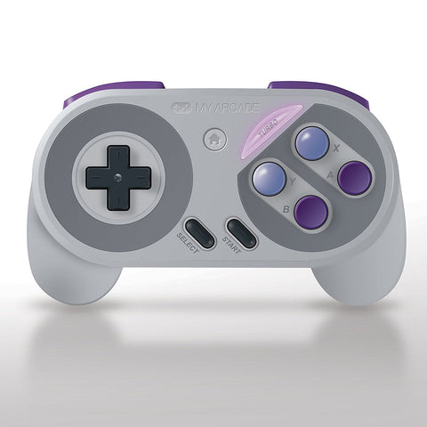 MY ARCADE Super Gamepad Wireless Controller for Nintendo NES & SNES Classic Edition