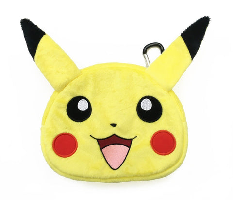 Hori Universal Pokemon Pikachu Plush Pouch Case for New Nintendo 3DS XL/2DS XL/3DS/2DS/DS