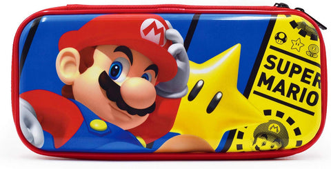 Hori Nintendo Switch & Switch Lite Premium Vault Case Officially Licensed by Nintendo - Mario