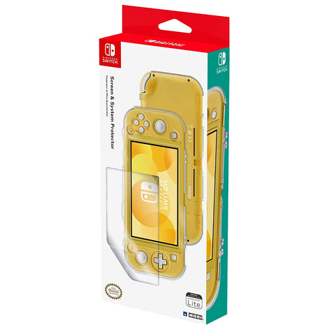 HORI Official Nintendo Switch Lite Screen & System Protector Set