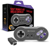 "Hyperkin ""Scout"" Premium 2.4 GHz Wireless Controller for SNES Classic Edition / NES Classic Edition"