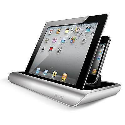 iSound Power View Pro S Charging View Dock Stand for iPad iPhone iPod Touch